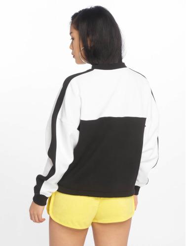Urban Classics Damen Pullover Oversize Two Tone in schwarz