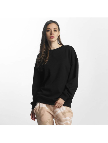 Urban Classics Damen Pullover Oversize in schwarz