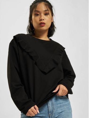 Urban Classics Damen Pullover Terry in schwarz