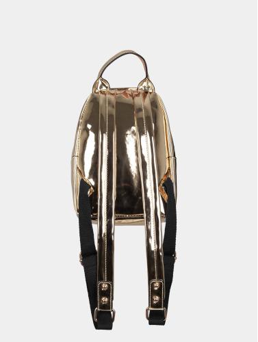 Urban Classics Rucksack Midi Metallic in goldfarben