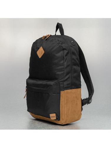 Urban Classics Rucksack Leather Imitation in schwarz