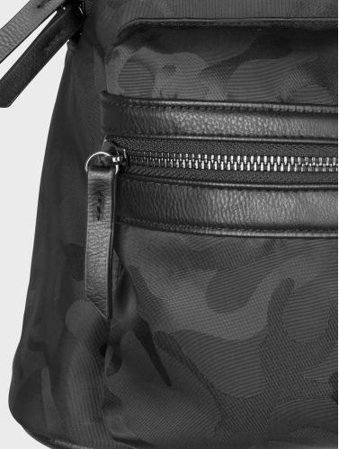 Urban Classics Rucksack Camo Jacquard in schwarz