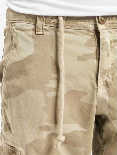 Urban Classics Herren Shorts Camo Cargo in beige