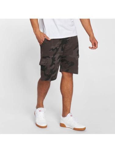Urban Classics Herren Shorts Camo Terry in camouflage