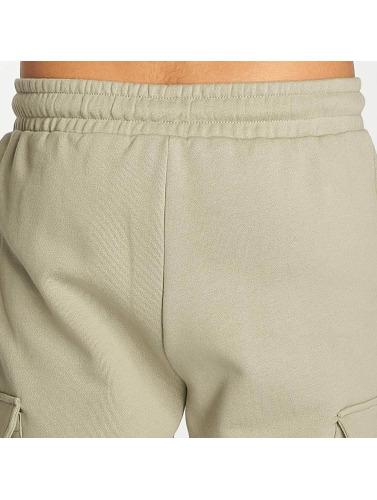 Urban Classics Herren Shorts Open Edge Terry Cargo in olive