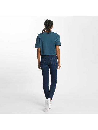 Urban Classics Damen Skinny Jeans Skinny Denim in blau