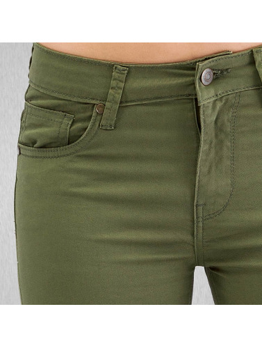 Urban Classics Damen Skinny Jeans Ladies In Olive