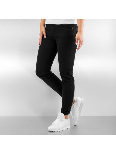 Urban Classics Damen Skinny Jeans Ladies in schwarz