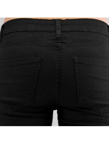 Urban Classics Damen Skinny Jeans Ladies in schwarz