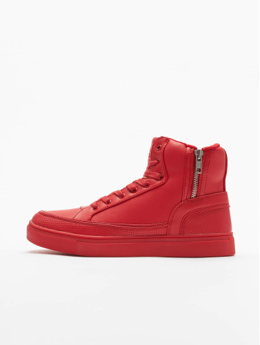 Urban Classics Sneaker Zipper in rot
