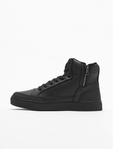 Urban Classics Sneaker Zipper in schwarz