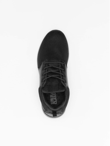 Urban Classics Sneaker Light Runner S in schwarz