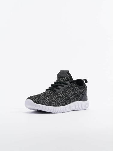 Urban Classics Sneaker Knitted Light in schwarz