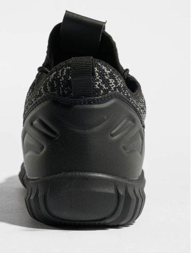 Urban Classics Sneaker Knitted Light in schwarz