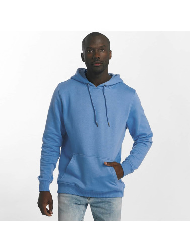 Urban Classics Hombres Sudadera Basic in azul