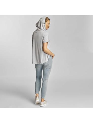 Urban Classics Mujeres Sudadera Ladies Viscose in gris