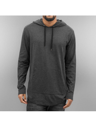 Urban Classics Hombres Sudadera Jersey in gris