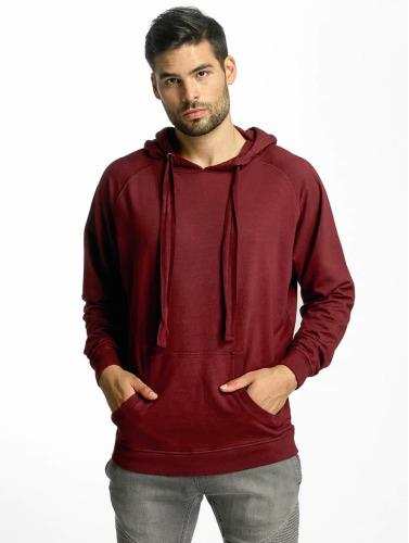 Urban Classics Hombres Sudadera Garment in rojo