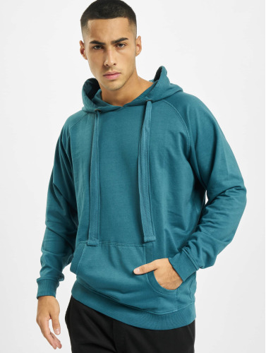 Urban Classics Hombres Sudadera Garment Washed Terry in turquesa