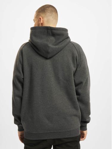 Urban Classics Hombres Sudaderas con cremallera Blank in gris