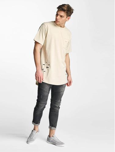 Urban Classics Herren T-Shirt Ripped in beige