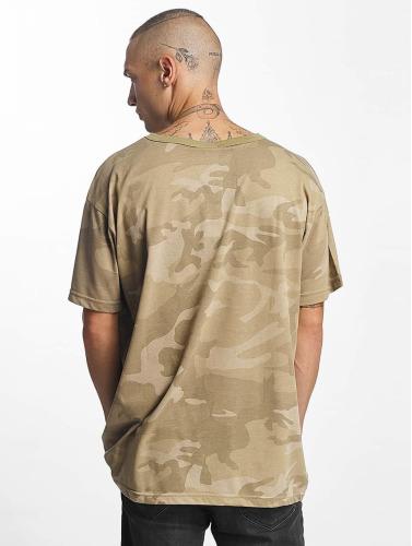Urban Classics Herren T-Shirt Camo Oversized in camouflage