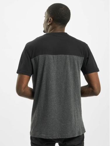 Urban Classics Herren T-Shirt 3-Tone Pocket in grau