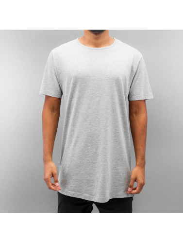 Urban Classics Herren T-Shirt Peached Shaped Long in grau