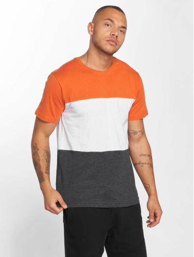 Urban Classics Herren T-Shirt Color Block in grau