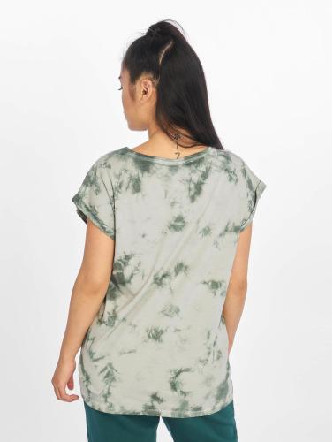 Urban Classics Damen T-Shirt Batic Extended in grün