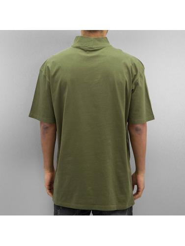 T-shirt Col Roulé Oversized Urban Classics Herren Olive