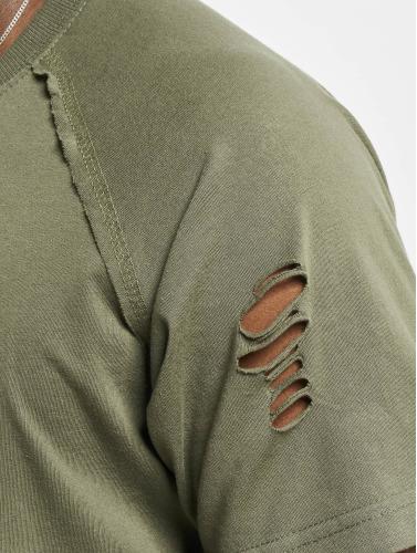 Urban Classics Herren T-Shirt Ripped in olive