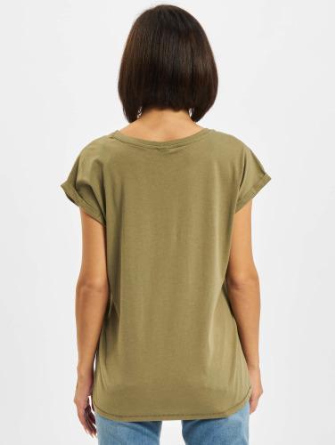 Urban Classics Damen T-Shirt Extended Shoulder in olive Günstig Kaufen 100% Authentisch Neue Und Mode Bester Preiswerter Großhandelspreis Verkauf Truhe Finish qUhSBWdfn