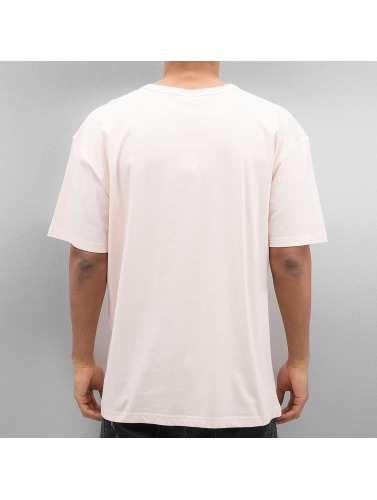 Urban Classics Herren T-Shirt Oversized in rosa