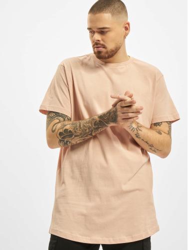 Urban Classics Herren T-Shirt Shaped Long in rosa