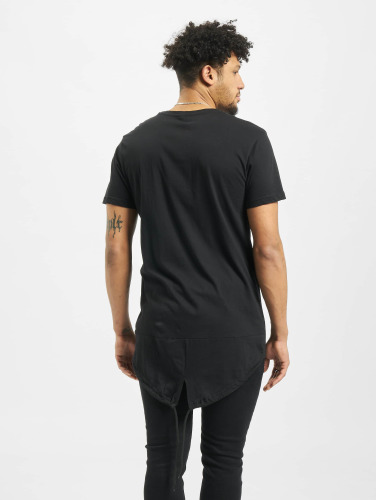 Urban Classics Herren T-Shirt Long Tail in schwarz