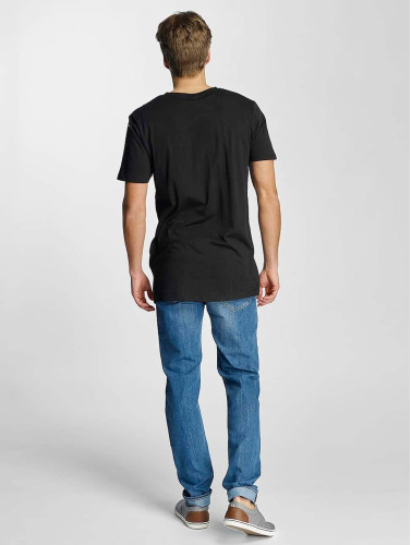 Urban Classics Herren T-Shirt Basic V-Neck in schwarz