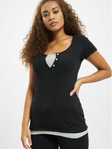 Urban Classics Damen T-Shirt Two Colored in schwarz Verkauf Neuer Günstig Kaufen Niedrige Versandkosten Ht4RmQ9Q3