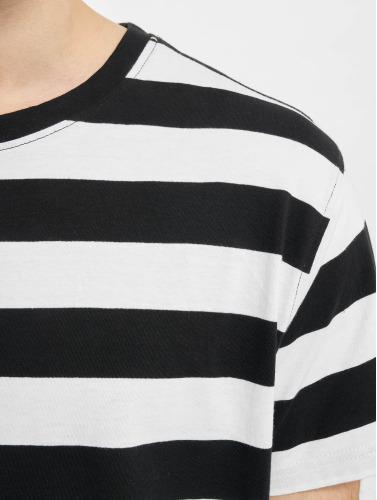Urban Classics Herren T-Shirt Block Stripe in schwarz