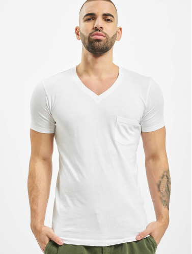 Urban Classics Herren T-Shirt Pocket in weiß