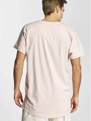 Urban Classics Herren Tall Tees Long Shaped Turnup in rosa