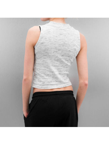 Urban Classics Mujeres Tank Tops Ladies Space Dye in blanco