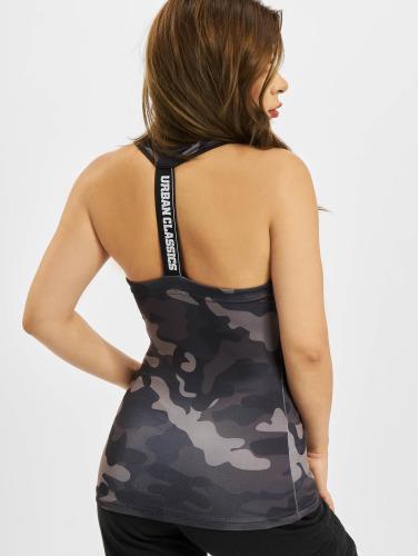 Urban Classics Damen Tank Tops Camo in camouflage