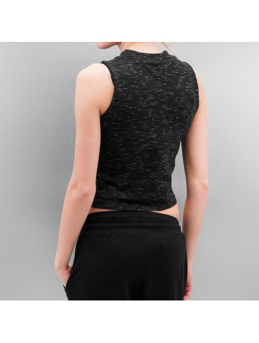 Urban Classics Damen Tank Tops Ladies Space Dye in schwarz