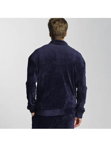 Mit Dem Verkauf Kreditkarte Online Urban Classics Herren Übergangsjacke Velvet in blau Mit Paypal Freiem Verschiffen GC1UYaURG