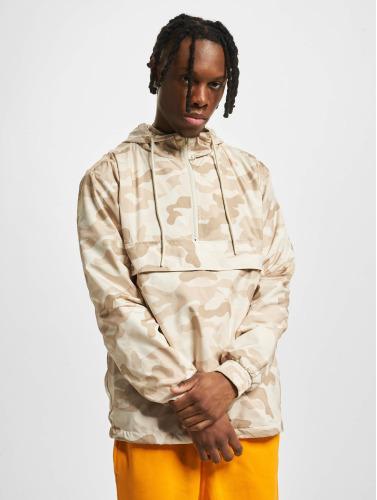 Urban Classics Herren Übergangsjacke Camo Pull Over in camouflage