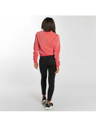 Urban Classics Damen Übergangsjacke Pleated in pink