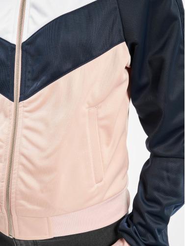 Urban Classics Damen Übergangsjacke Short Track in rosa