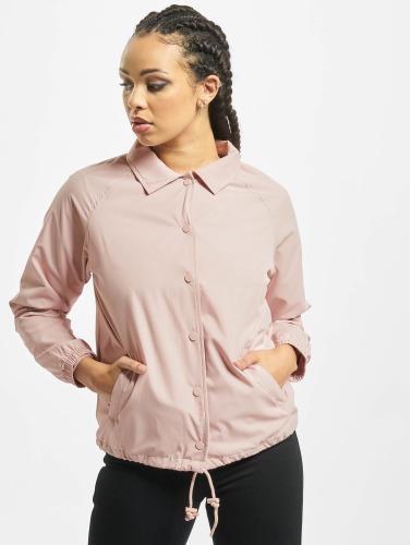 Urban Classics Damen Übergangsjacke Coach in rosa
