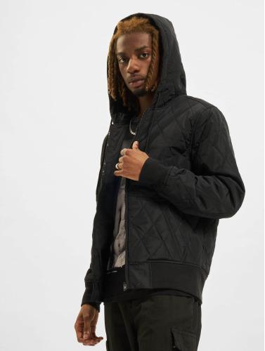 Urban Classics Herren Übergangsjacke Hooded Big in schwarz